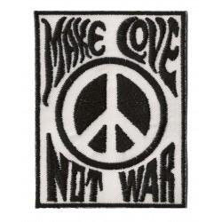Patche écusson thermocollant Make Love Not War