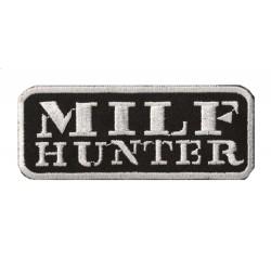 Patche écusson thermocollant Milf Hunter