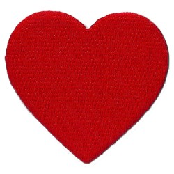 Iron-on Patch Heart
