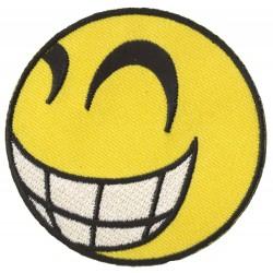 Aufnäher Patch Bügelbild Smiley