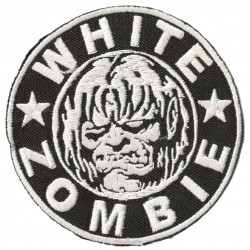 Patche écusson thermocollant White Zombie