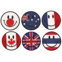 Toppa  termoadesiva Smiley Paese