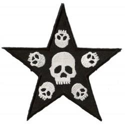 Patche écusson thermocollant Death Punk Star