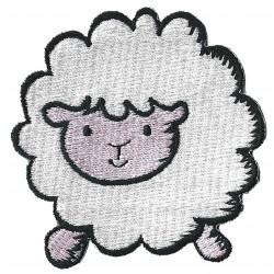 Patche écusson thermocollant Mouton