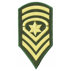 Iron-on Patch Sergeant-Major SSM