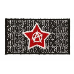 Patche écusson thermocollant Anarcho Punk