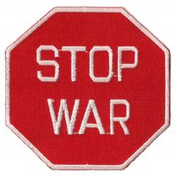 Patche écusson thermocollant Stop War