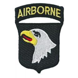 Aufnäher Patch Bügelbild Airborne