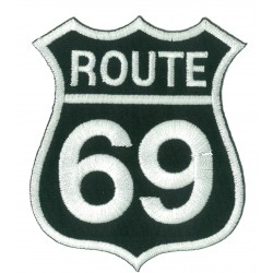 Iron-on Patch Route 66