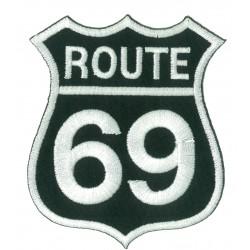 Patche écusson thermocollant Route 69