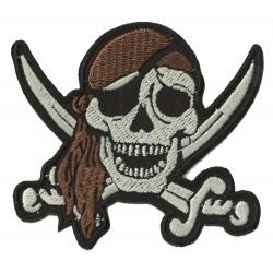 Aufnäher Patch Bügelbild pirat