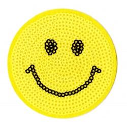 Patche écusson sequins Smiley