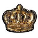 Iron-on Patch sequins royal crown