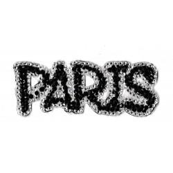 Patche écusson Strass Paris
