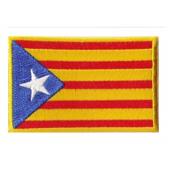 Iron-on Flag Patch catalunya