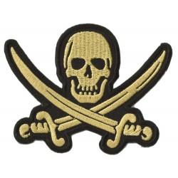 Parche termoadhesivo pirata
