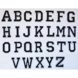 Aufnäher Patch Bügelbild Letter Buchstaben