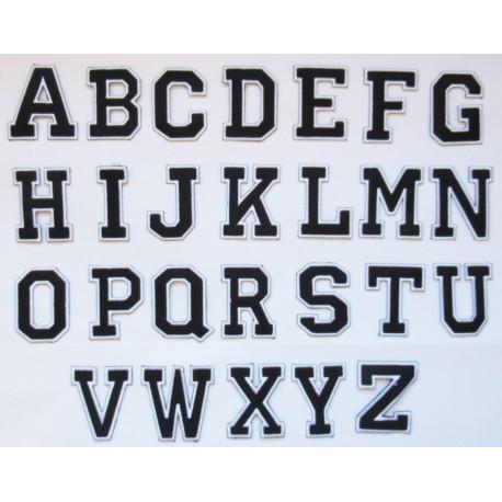 lettres flocage thermocollantes hotfix patche