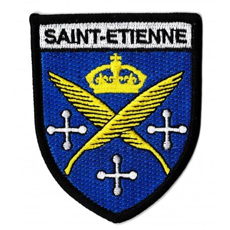 Patche écusson Saint-Etienne thermocollant