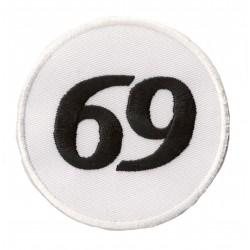 Iron-on Patch 69 sixty nine