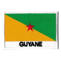 Patche drapeau Guyane Française