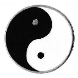 Toppa  termoadesiva yin yang