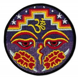 Iron-on Patch Om Aum Ohm