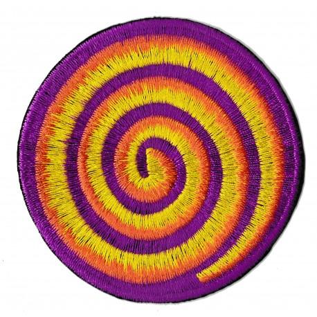 Patche écusson thermocollant spirale