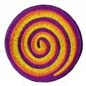 Aufnäher Patch Bügelbild Spiral