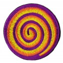 Iron-on Patch spiral