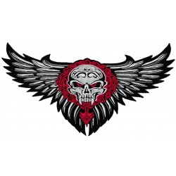 Iron-on Back Patch vampire eagle