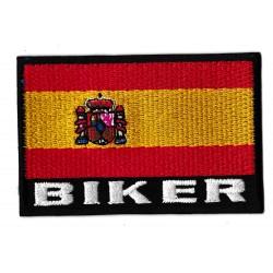 Patche écusson drapeau Biker espagne