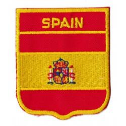 Patche écusson drapeau espagne