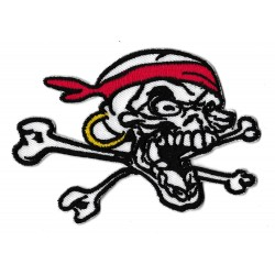 Iron-on Patch Pirate