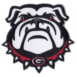 Iron-on Patch Bulldog