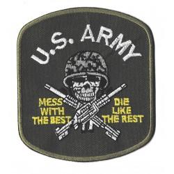 Toppa  termoadesiva esercito US