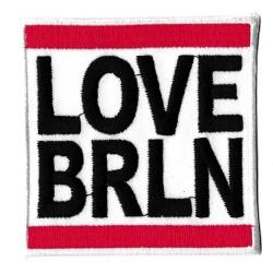 Patche écusson love BRLN Berlin