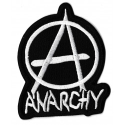 Iron-on Patch Anarchy