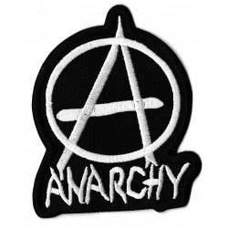 Patche écusson thermocollant Anarchie