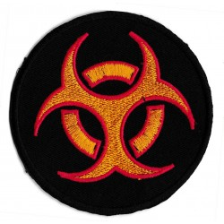 Iron-on Patch biohazard covid