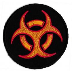 Iron-on Patch biohazard covid