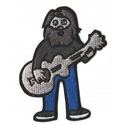 Patche écusson hipster Guitar Hero