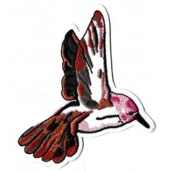 Patche écusson colibris oiseau