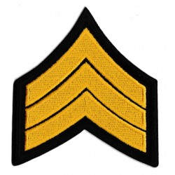 Patche écusson Staff Sergeant US army USA grade