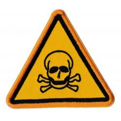 Aufnäher Patch Bügelbild Danger