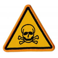 Iron-on Patch Danger