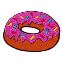 Patche écusson thermocollant donut