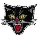 Iron-on Patch black cat