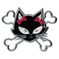 Parche termoadhesivo gato linda