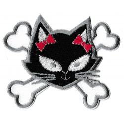 Patche écusson Chatte pirate